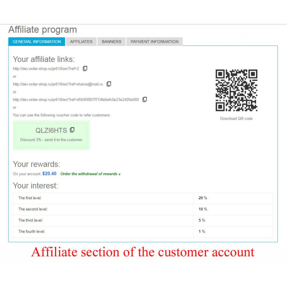 module - Indicizzazione a pagamento (SEA SEM) & Affiliazione - Extended Affiliate Program RefPRO - 20