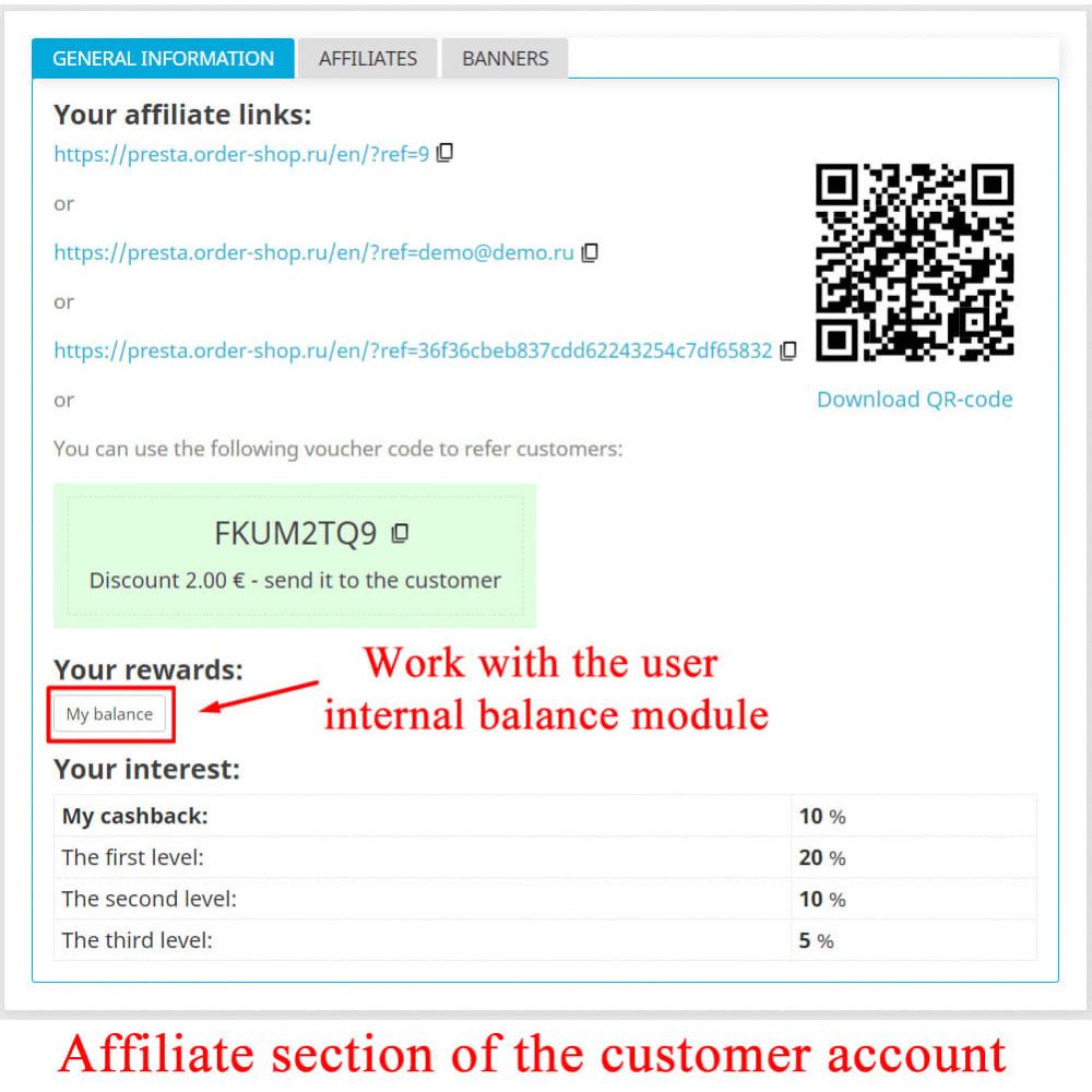 module - Indicizzazione a pagamento (SEA SEM) & Affiliazione - Extended Affiliate Program RefPRO - 21