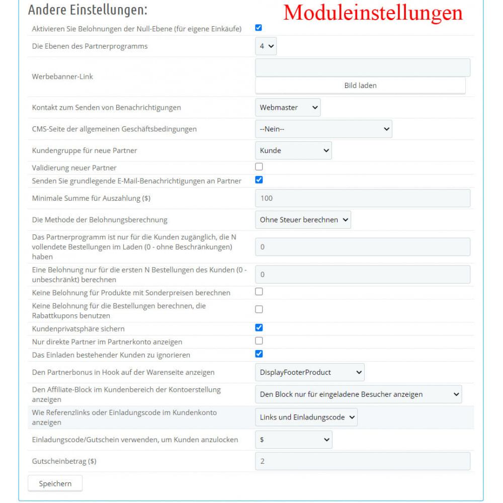 module - SEA SEM (Bezahlte Werbung) & Affiliate Plattformen - Das erweiterte Referenzprogramm RefPRO - 4