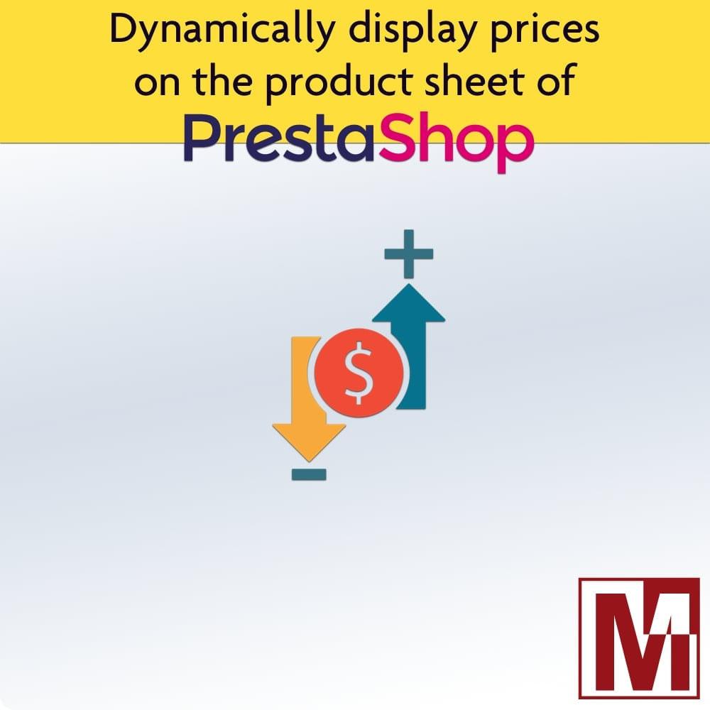 module - Zarządzanie cenami - Display dynamic prices by quantity and more - 1