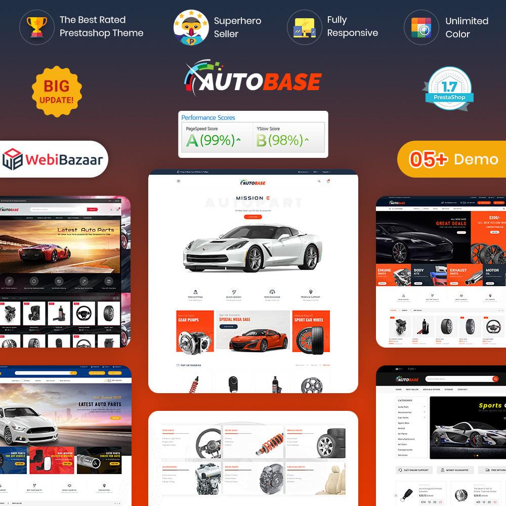 theme - Coches y Motos - Autobase - Auto Parts & Tools - 1