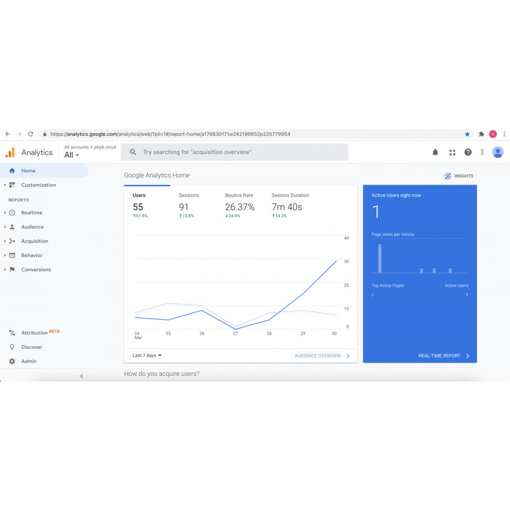module - Analytics & Statistics - Simple Google Analytics Online - 3