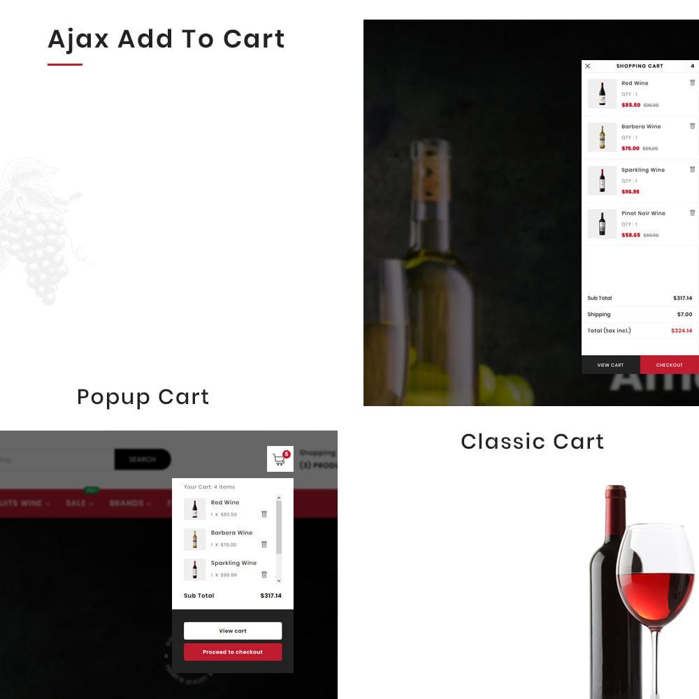 theme - Bebidas & Tabaco - Winery Mega France–Wine  Alcohol–Drink Super Store - 8