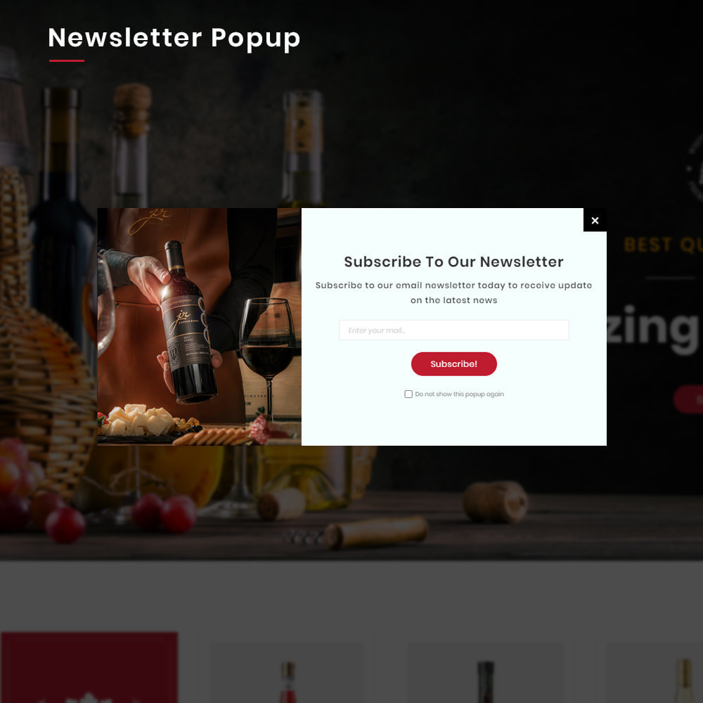 theme - Bebidas & Tabaco - Winery Mega France–Wine  Alcohol–Drink Super Store - 10