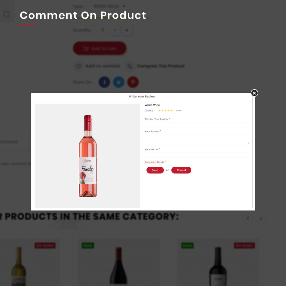 theme - Bebidas & Tabaco - Winery Mega France–Wine  Alcohol–Drink Super Store - 12