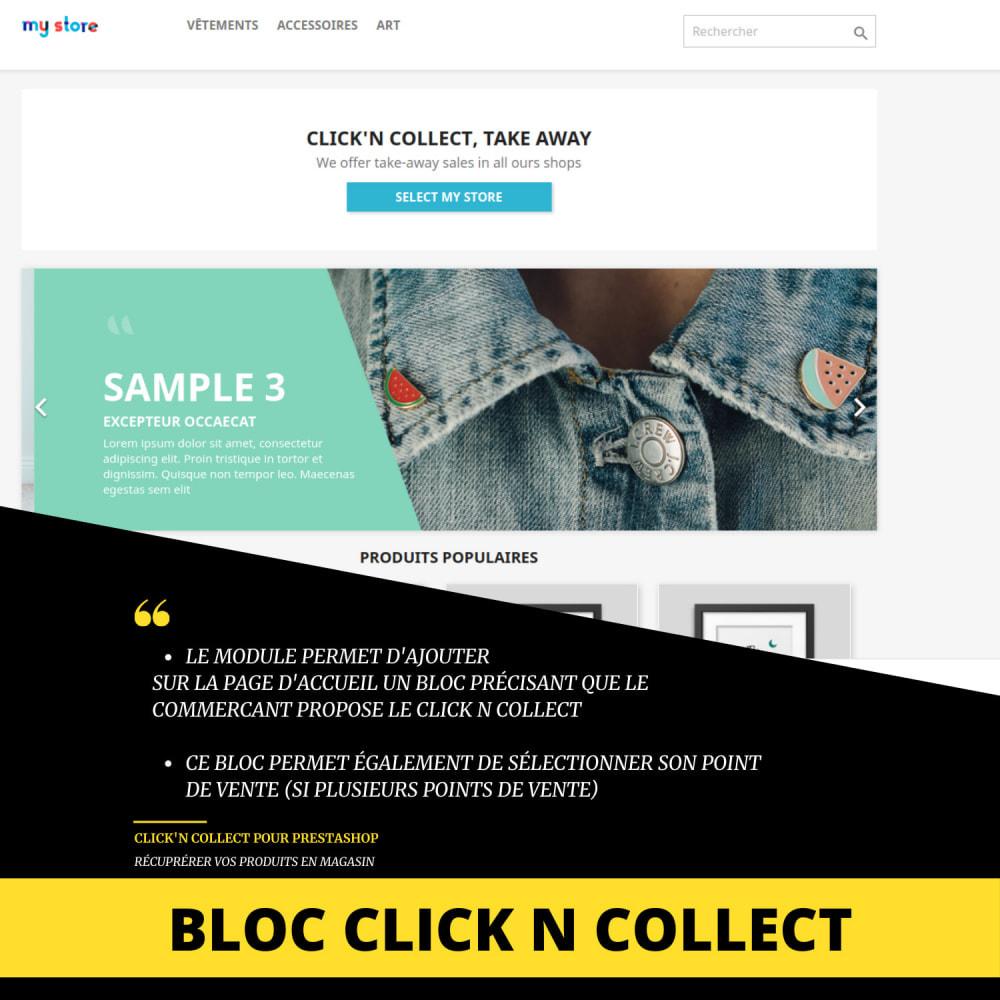 module - Punto de entrega y Recogida en tienda - Click'n collect & local delivery - 4