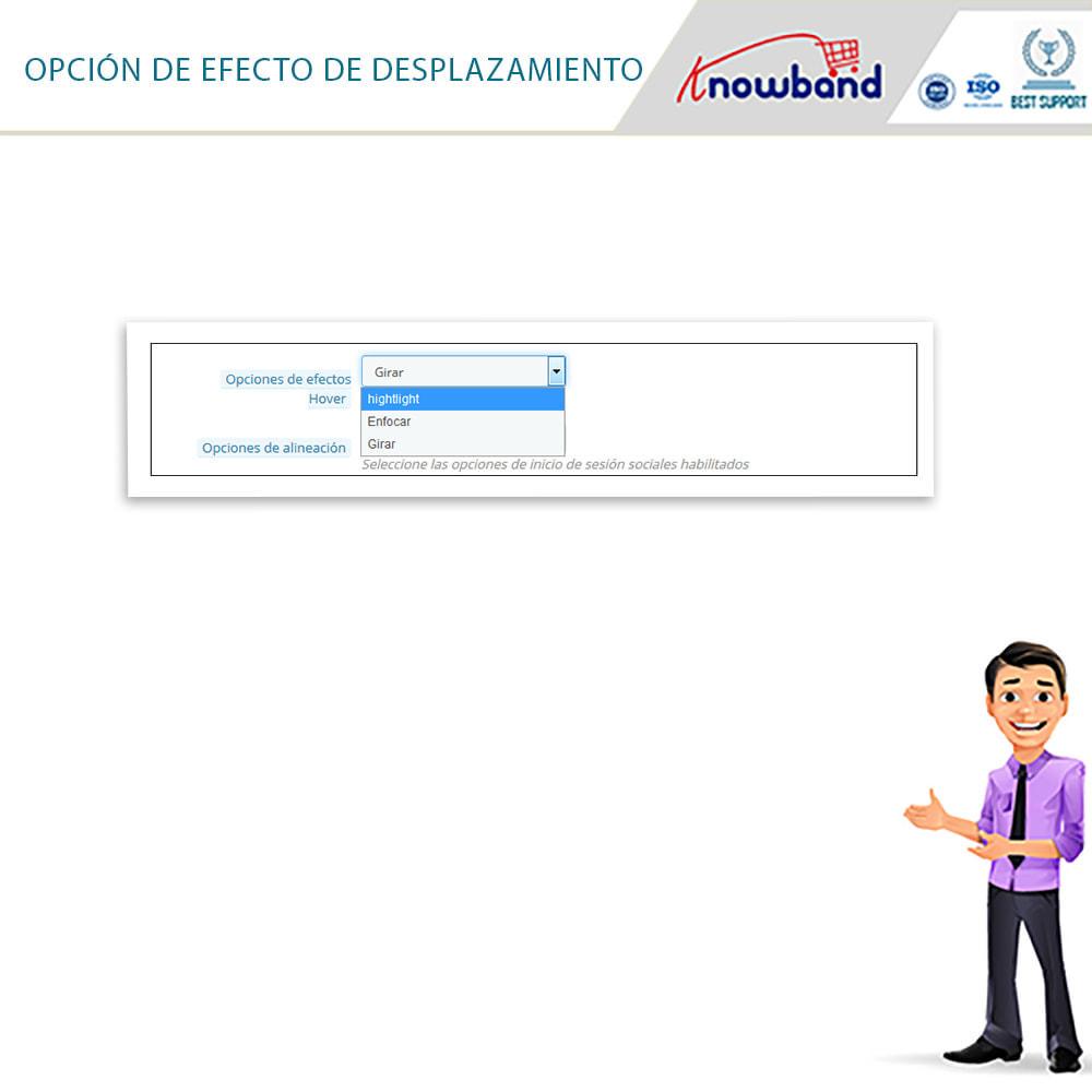 module - Botones de inicio de Sesión/Conexión - Knowband-Acceso Social 14 in 1,Estadísticas & MailChimp - 18