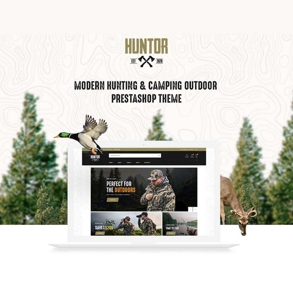theme - Sport, Activiteiten & Reizen - Leo Huntor - Hunting & Outdoor Gear Store - 1