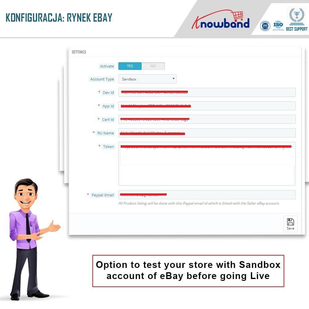 module - Platforma handlowa (marketplace) - Knowband - Integracja z rynkiem eBay - 2