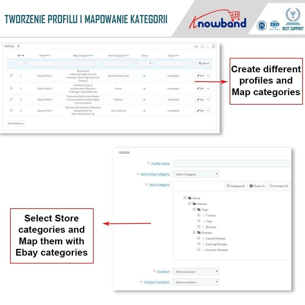 module - Platforma handlowa (marketplace) - Knowband - Integracja z rynkiem eBay - 4