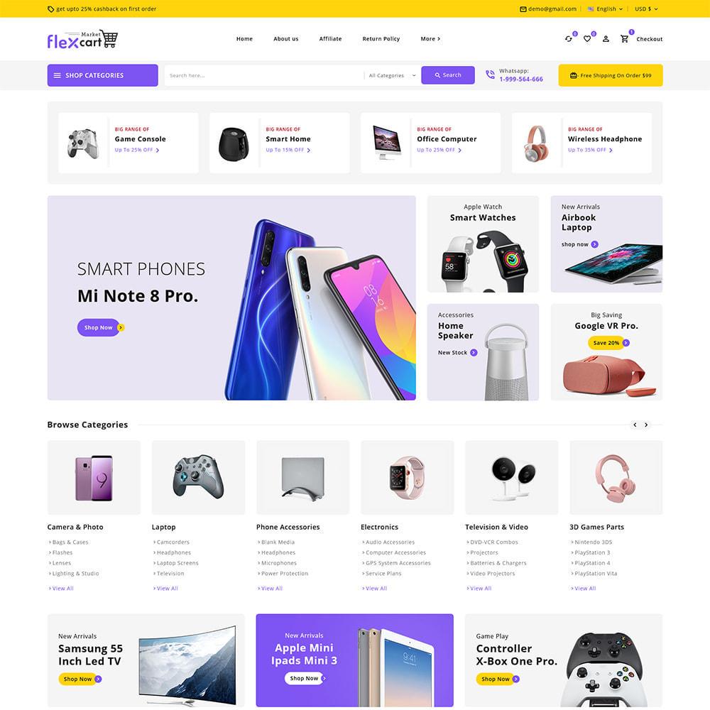 theme - Elektronika & High Tech - Flexcart - Mega Electronic Super Store - 2