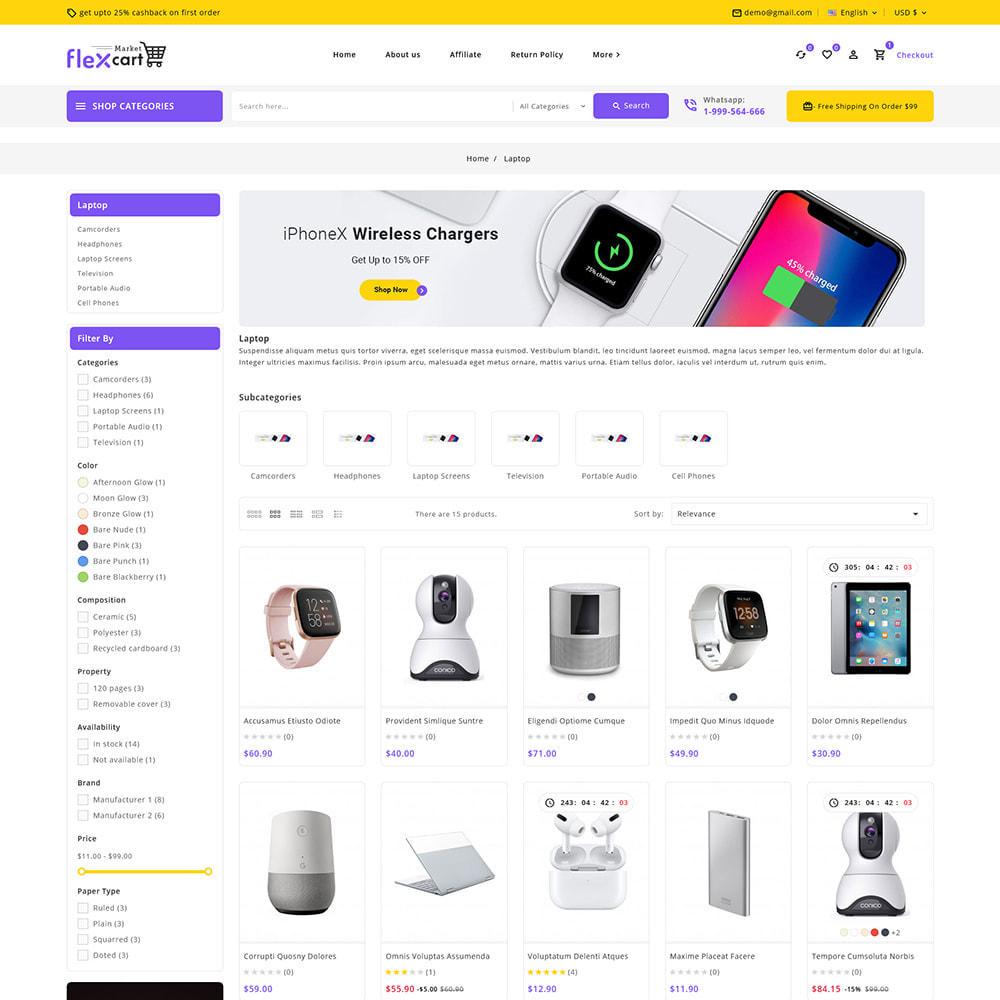 theme - Elektronika & High Tech - Flexcart - Mega Electronic Super Store - 4