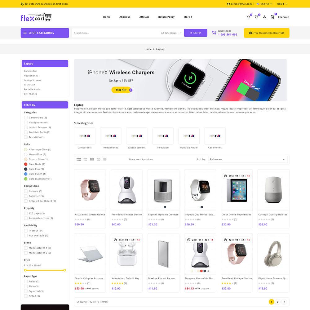 theme - Elektronika & High Tech - Flexcart - Mega Electronic Super Store - 5