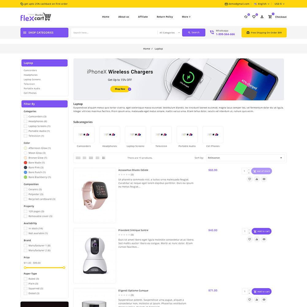 theme - Elektronika & High Tech - Flexcart - Mega Electronic Super Store - 8