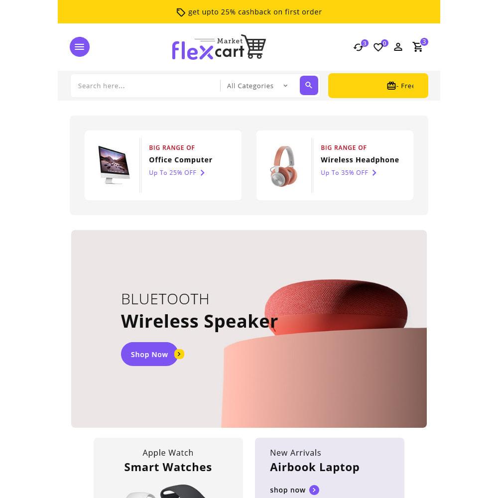 theme - Elektronika & High Tech - Flexcart - Mega Electronic Super Store - 15