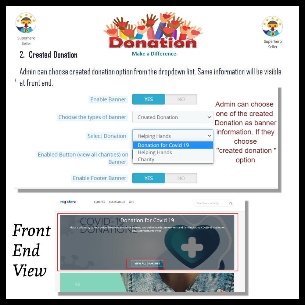 module - Altri Metodi di Pagamento - Donation for Charity, Relief, and Support - 12