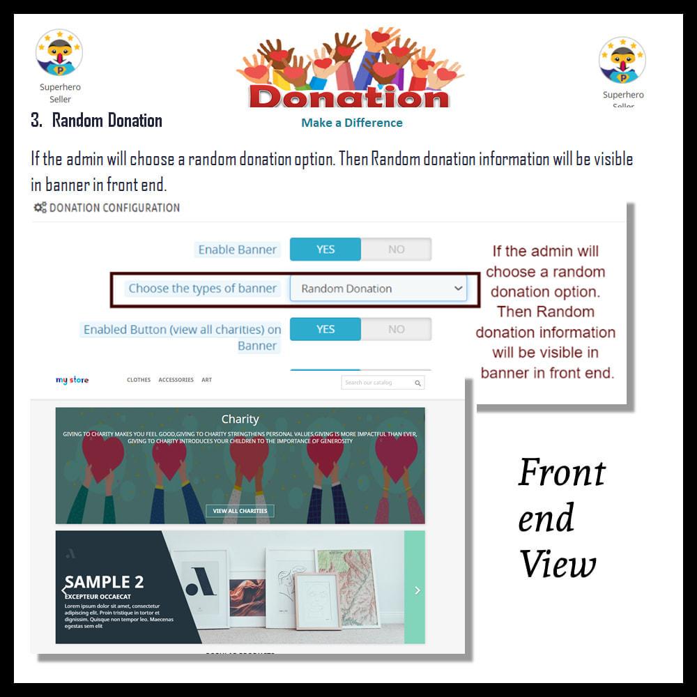 module - Altri Metodi di Pagamento - Donation for Charity, Relief, and Support - 13