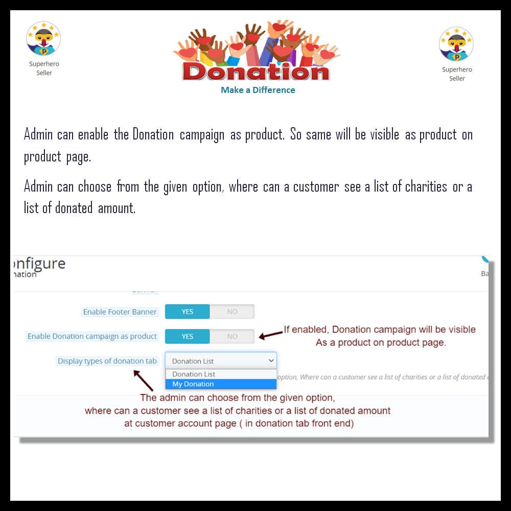 module - Altri Metodi di Pagamento - Donation for Charity, Relief, and Support - 14