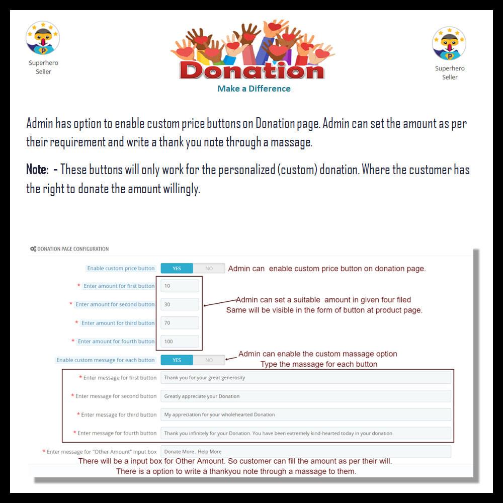 module - Altri Metodi di Pagamento - Donation for Charity, Relief, and Support - 15