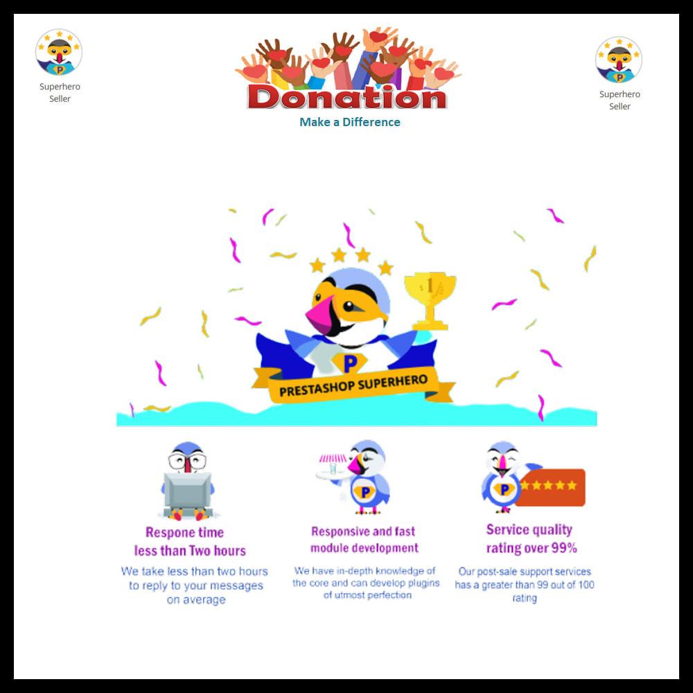 module - Altri Metodi di Pagamento - Donation for Charity, Relief, and Support - 17