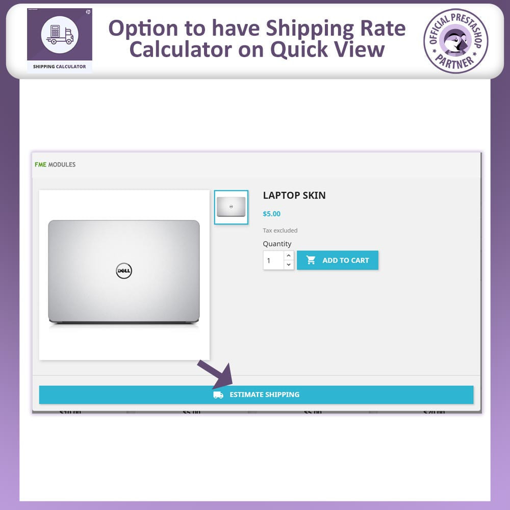 module - Shipping Costs - Shipping Rate Calculator - 3