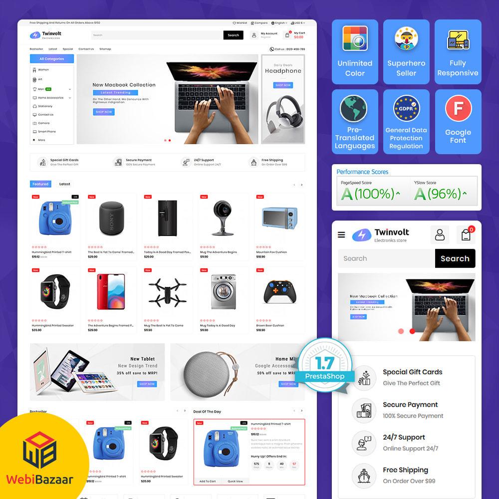 theme - Elektronik & High Tech - Twinvolt - Supermarket Hitech Store - 1