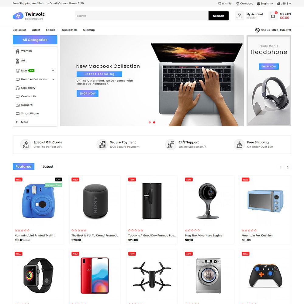 theme - Elektronik & High Tech - Twinvolt - Supermarket Hitech Store - 2