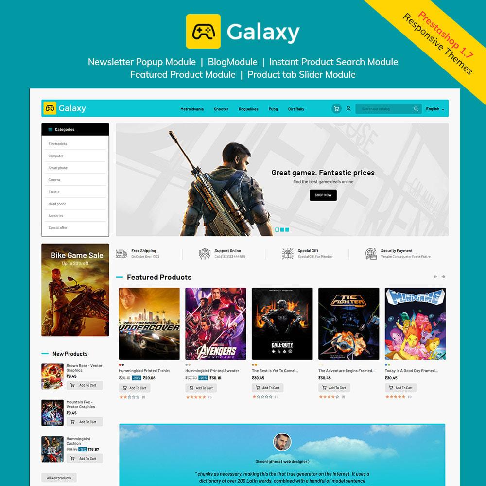 theme - Kinder & Spielzeug - Galaxy Game Zone - Digitaler Spielwarenladen - 2