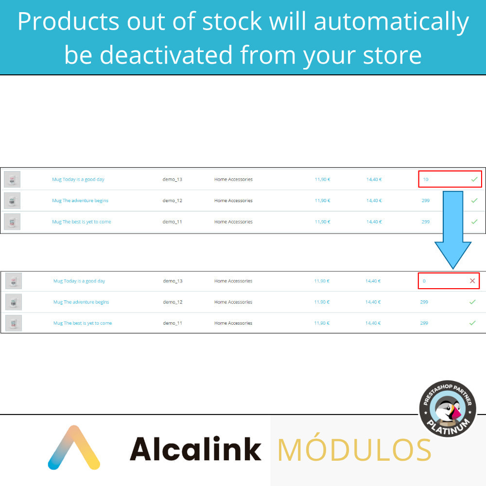 module - Estoques & Fornecedores - Activate/deactivate products without stock or image - 3