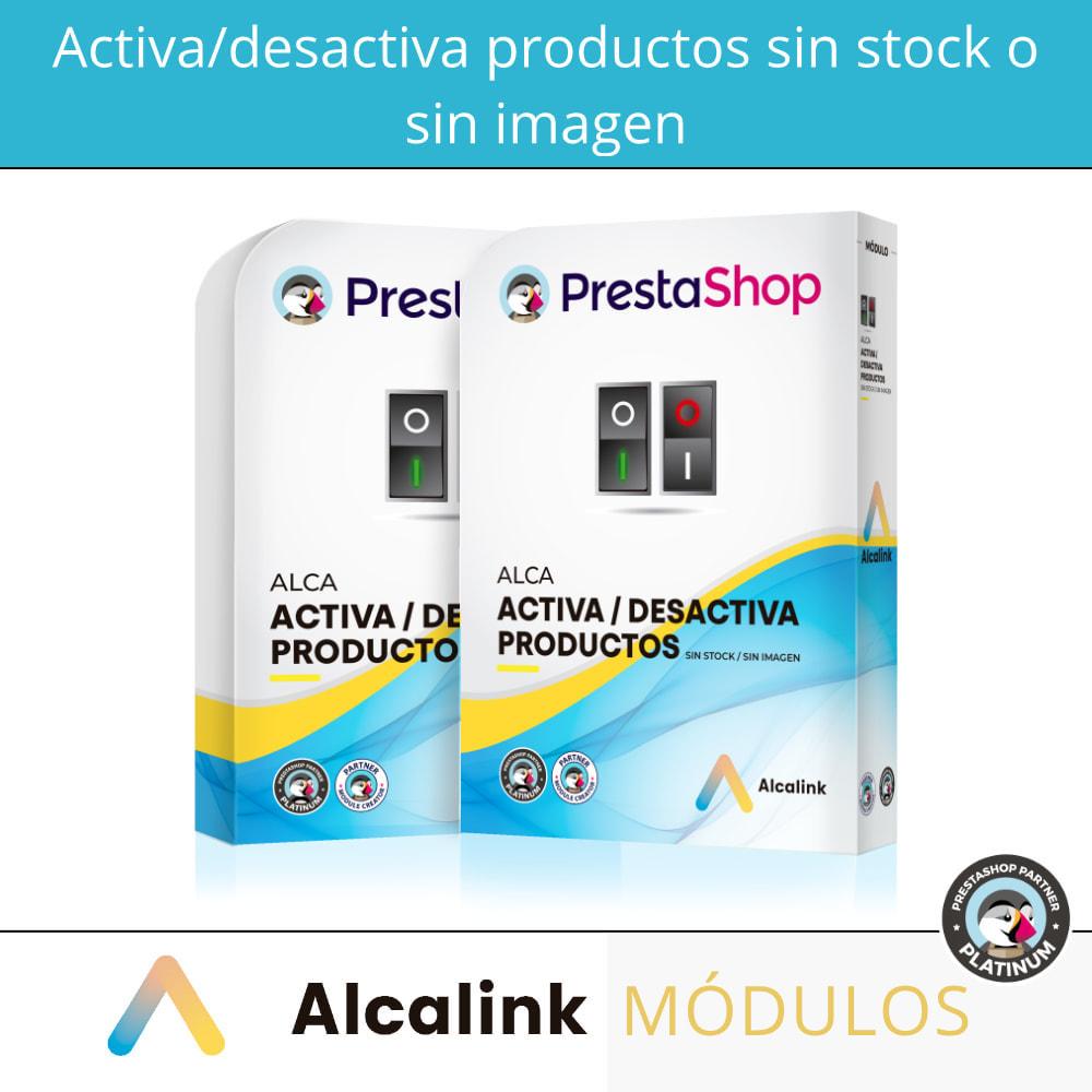 module - Gestión de Stock y de Proveedores - Activa/desactiva productos sin stock o sin imagen - 1