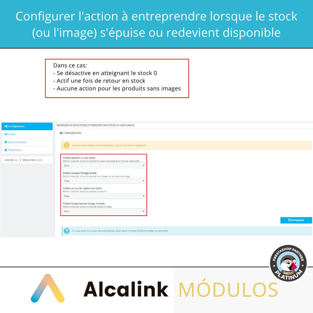 module - Gestion des Stocks & des Fournisseurs - Activer/désactiver les produits sans stock ou image - 2