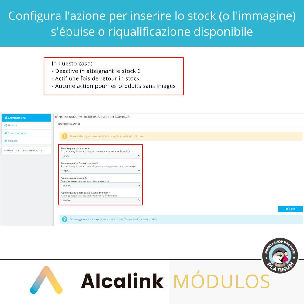 module - Gestione Scorte & Fornitori - Attiva/disattiva i prodotti senza stock o immagine - 2