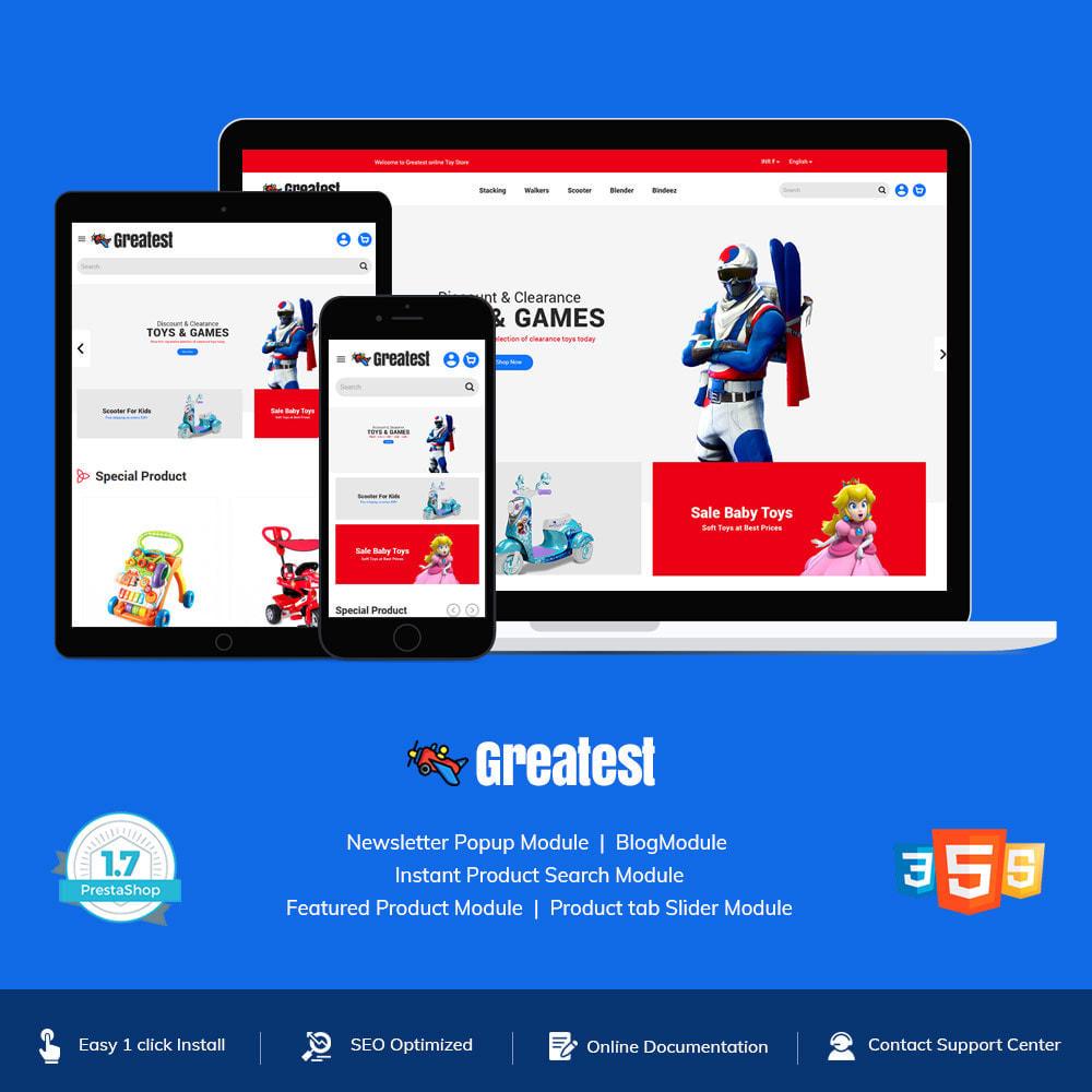theme - Zabawki & Artykuły dziecięce - Greatest Toy - Puzzle Game Kids Store - 2