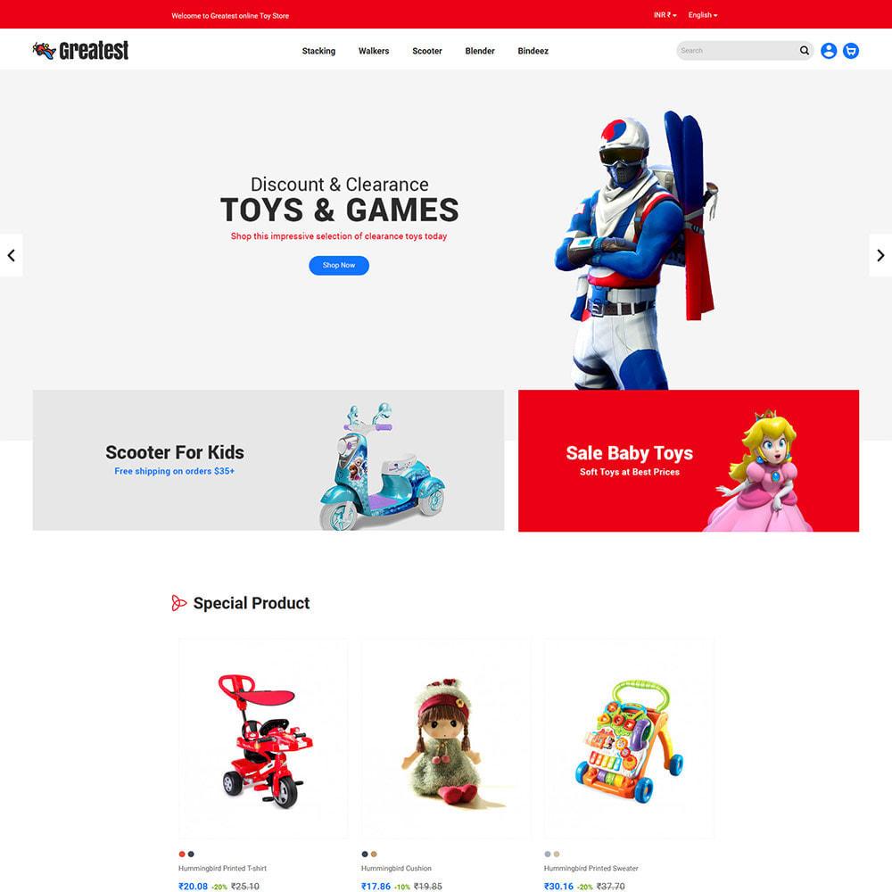 theme - Zabawki & Artykuły dziecięce - Greatest Toy - Puzzle Game Kids Store - 3