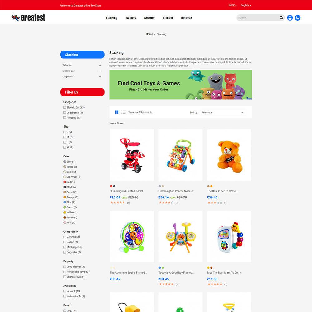 theme - Zabawki & Artykuły dziecięce - Greatest Toy - Puzzle Game Kids Store - 4