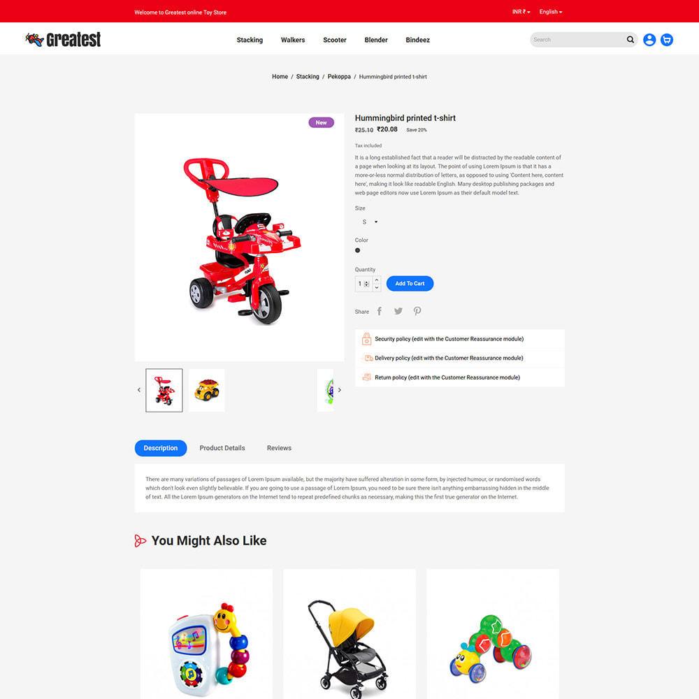 theme - Zabawki & Artykuły dziecięce - Greatest Toy - Puzzle Game Kids Store - 6