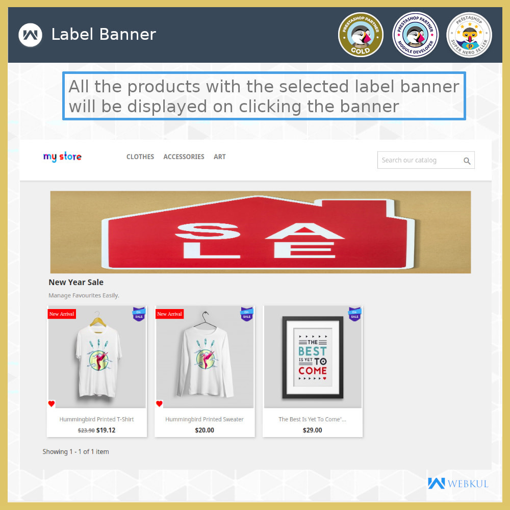 module - Badges & Logos - Product Label | Product Sticker - 5