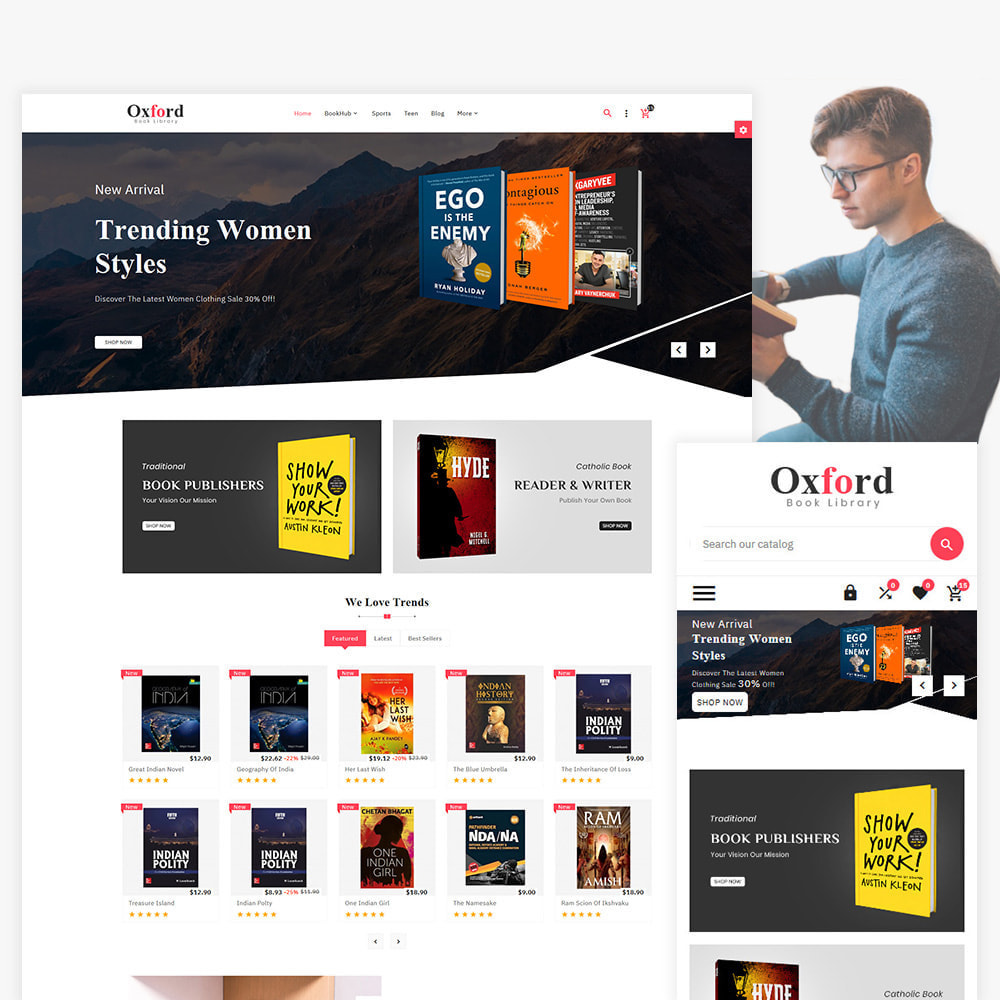 theme - Kunst & Kultur - Oxford  Art–Book Multi–Purpose Store - 1