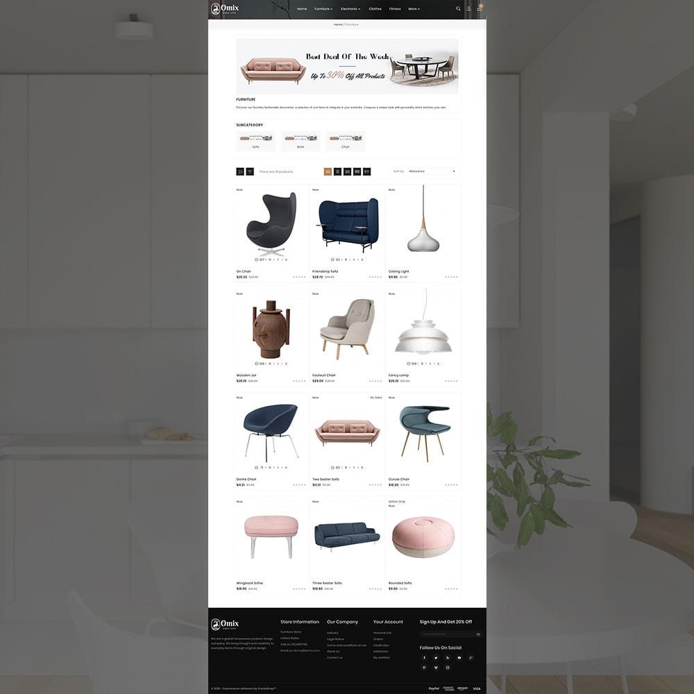 theme - Casa & Jardins - Omix Furniture Store - 3