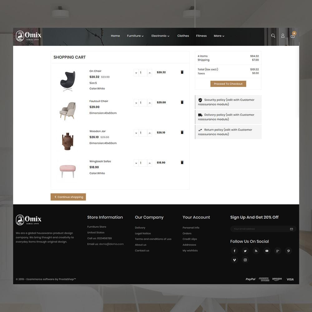 theme - Casa & Jardins - Omix Furniture Store - 5