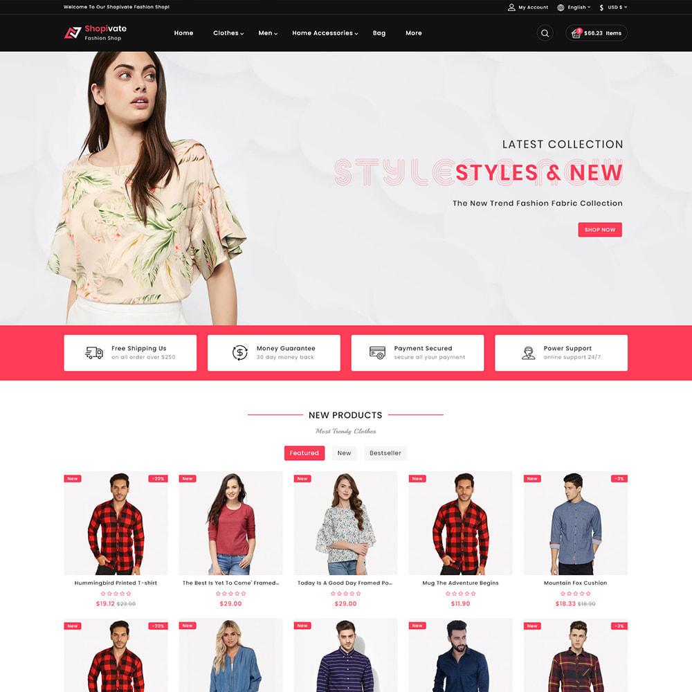 theme - Fashion & Shoes - Shopivate -  The Fashion Shop - 2
