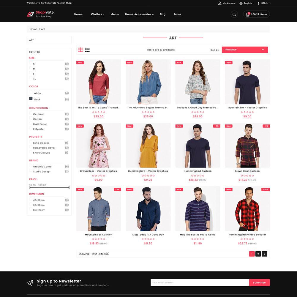 theme - Fashion & Shoes - Shopivate -  The Fashion Shop - 3