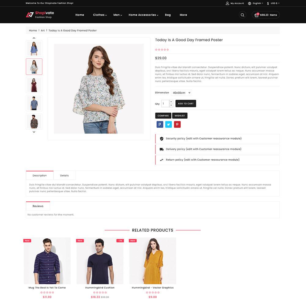 theme - Fashion & Shoes - Shopivate -  The Fashion Shop - 5