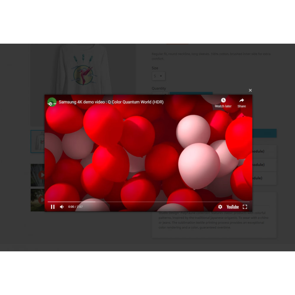 module - Видеоролики и Музыка - Multiple Product Videos - 1