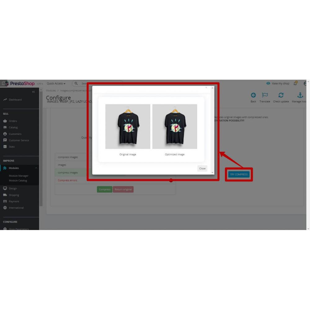 module - Fotos de productos - Image Compress with reSmush + CRON JOB - 6