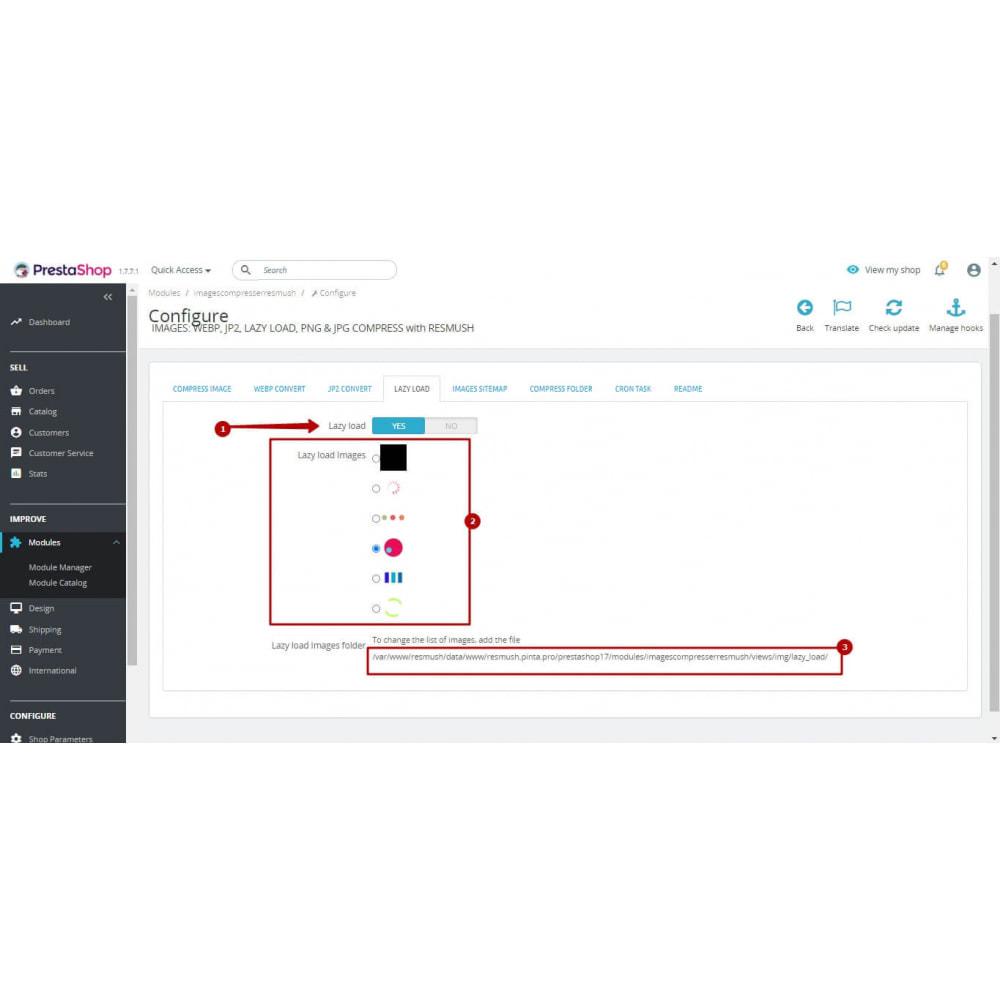 module - Fotos de productos - Image Compress with reSmush + CRON JOB - 10