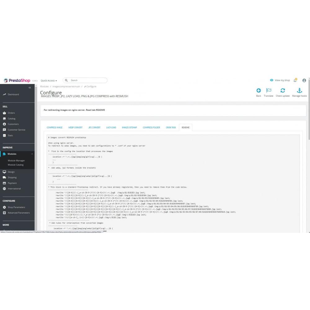 module - Fotos de productos - Image Compress with reSmush + CRON JOB - 15