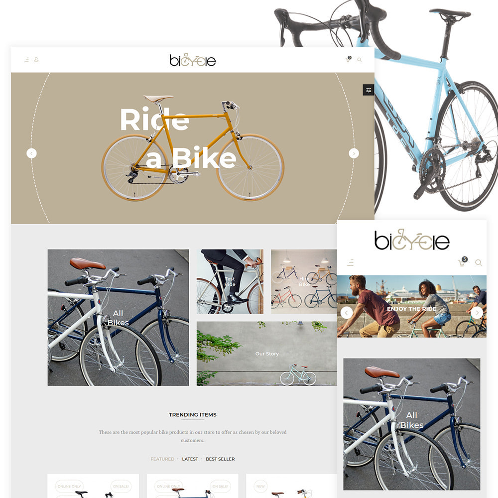 theme - Sports, Activities & Travel - Bicycle Sports–Bicycle Extreme Mega Store - 1
