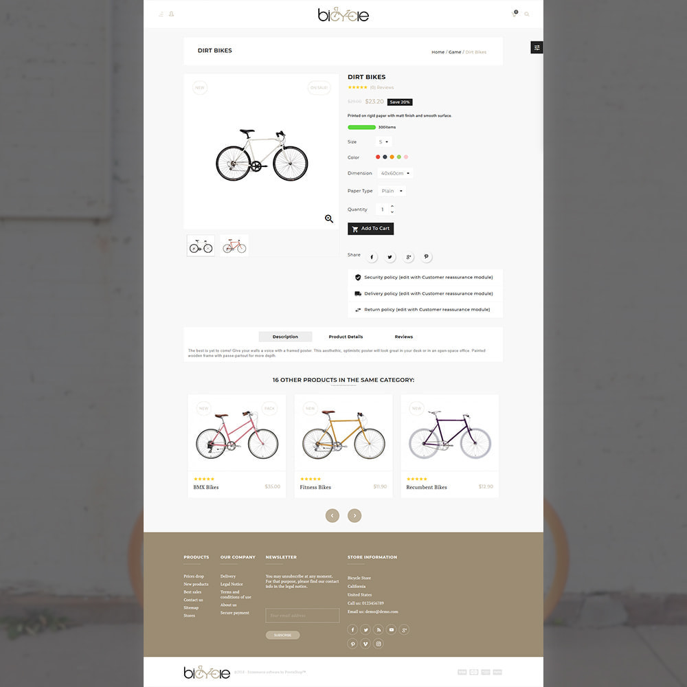 theme - Sports, Activities & Travel - Bicycle Sports–Bicycle Extreme Mega Store - 4