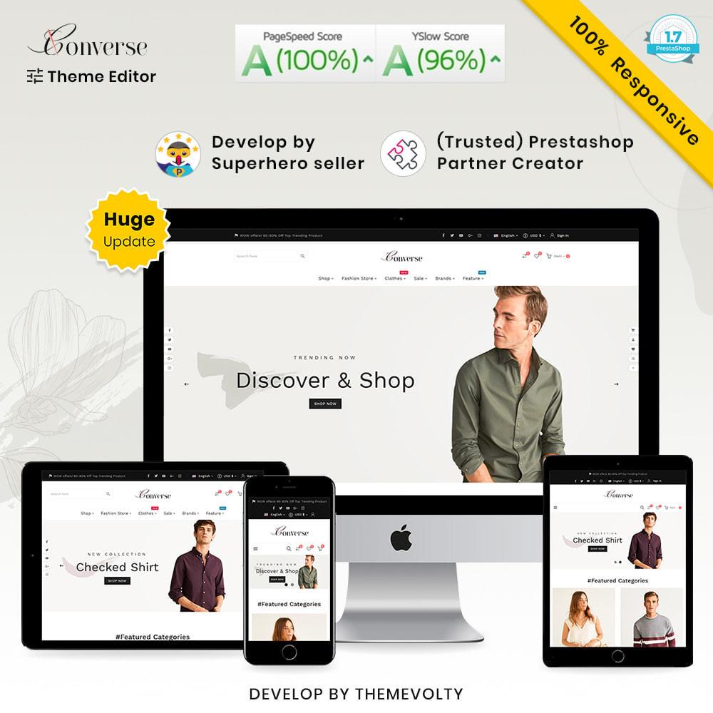 theme - Moda y Calzado - Converse Mega Style–Minimal Fashion Store - 1